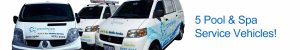 Poolwise Living Pool and Spa Service Vehicles